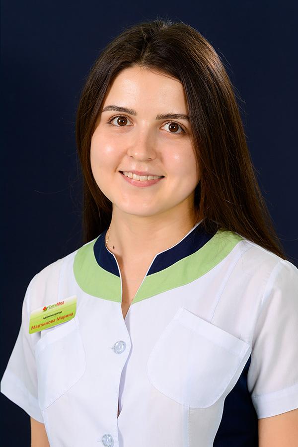 Мартынова Марина